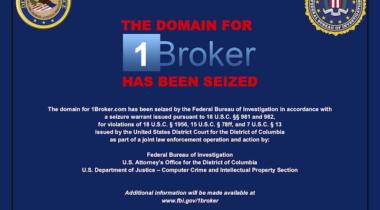 1Broker'a FBI Tarafından El Konuldu